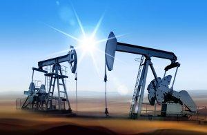 Oil rigs taking advantage of the Texas Oil Boom